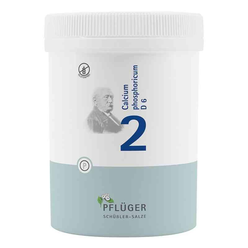 Biochemie Pflüger 2 Calcium phosphoricum D  6 Tabletten  bei apotheke.at bestellen