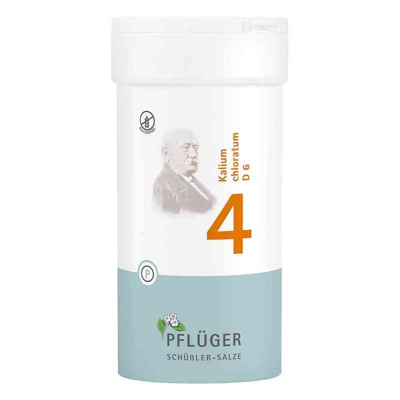Biochemie Pflüger 4 Kalium chloratum D  6 Tabletten bei apotheke.at bestellen