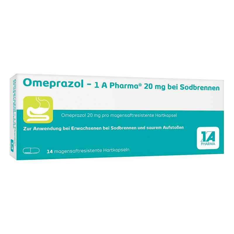 Omeprazol-1A Pharma 20mg bei Sodbrennen bei apotheke.at bestellen
