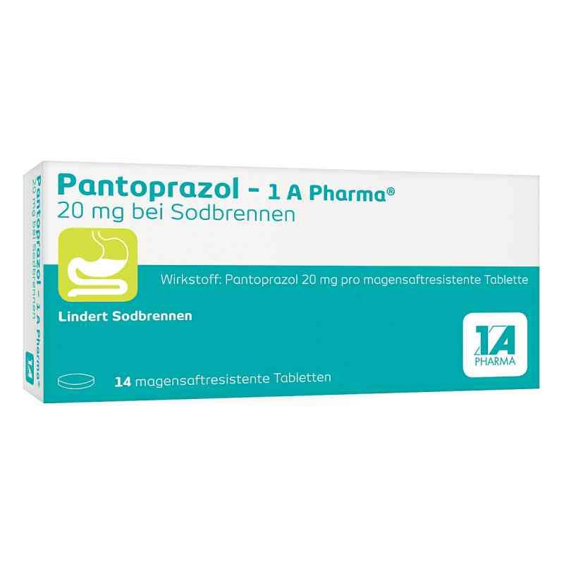 Pantoprazol-1A Pharma 20mg bei Sodbrennen  bei apotheke.at bestellen