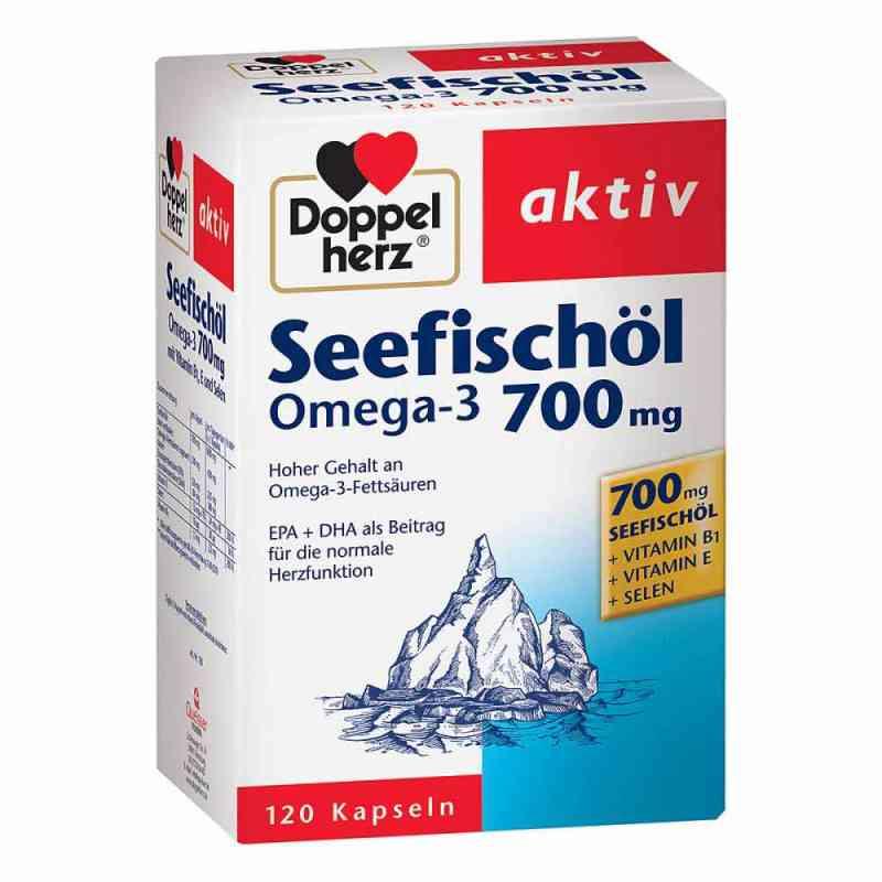 Doppelherz Seefischöl Omega-3 700 mg Kapseln  bei apotheke.at bestellen
