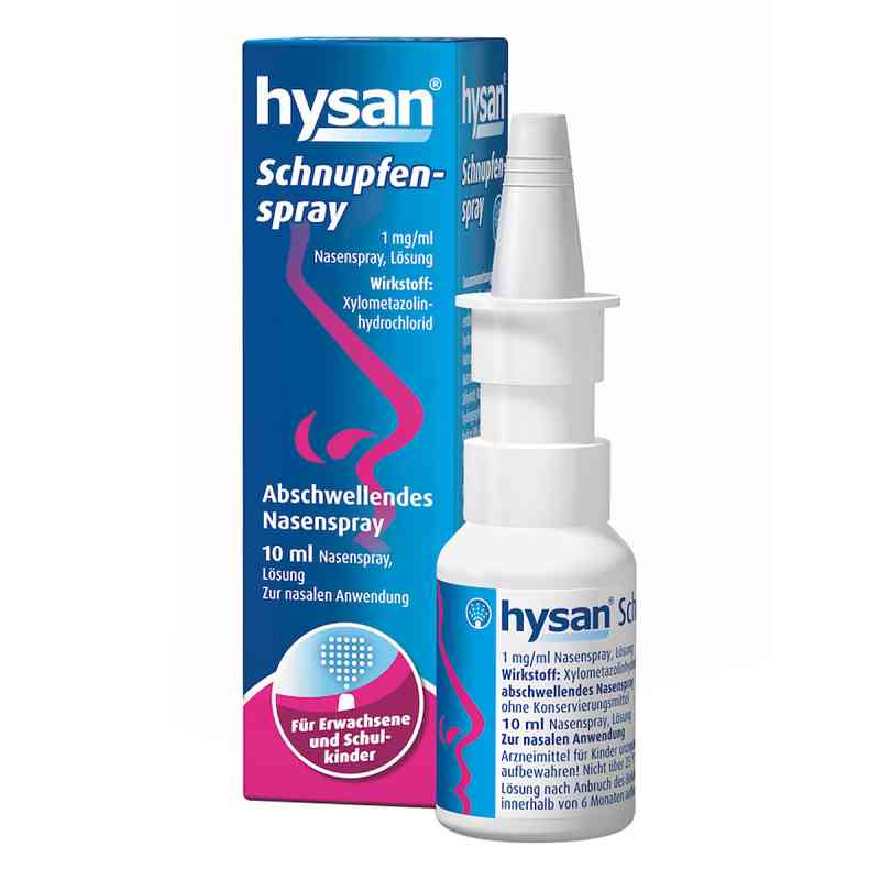 HYSAN Schnupfenspray 1mg/ml Lösung bei apotheke.at bestellen