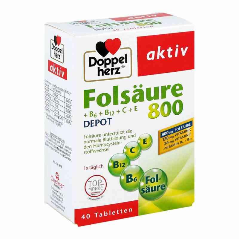 Doppelherz Folsäure 800 + B-vitamine Tabletten  bei apotheke.at bestellen