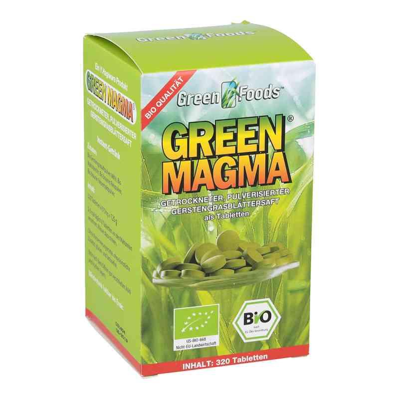 Green Magma Gerstengrasextrakt Tabletten bei apotheke.at bestellen