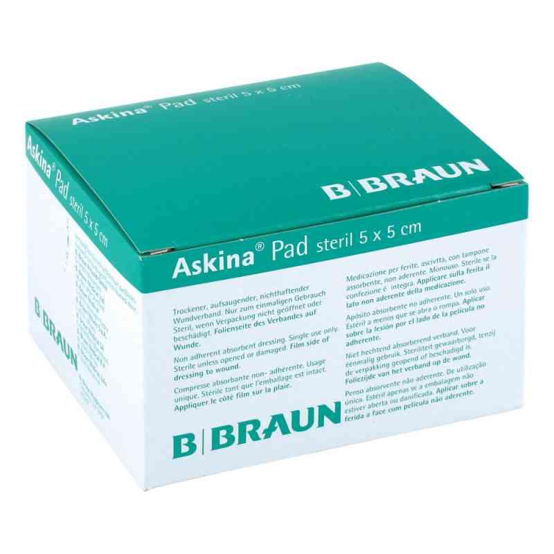 Askina Pad Wundauflage 5x5cm nichthaftend  bei apotheke.at bestellen