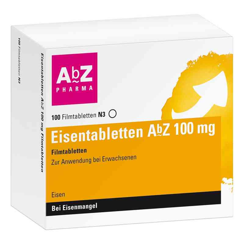 Eisentabletten AbZ 100mg  bei apotheke.at bestellen