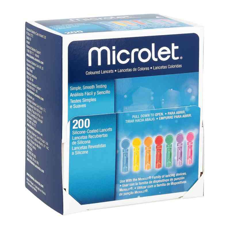 Microlet Lanzetten farbig  bei apotheke.at bestellen