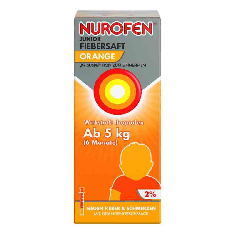 Nurofen Junior Fiebersaft Orange 2%  bei apotheke.at bestellen