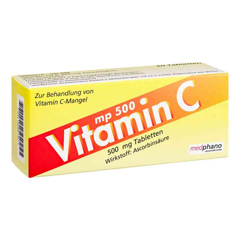 Vitamin C Mp 500 Tabletten bei apotheke.at bestellen
