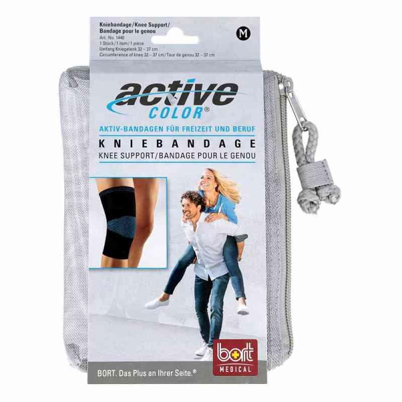 Bort Activecolor Kniebandage medium schwarz  bei apotheke.at bestellen