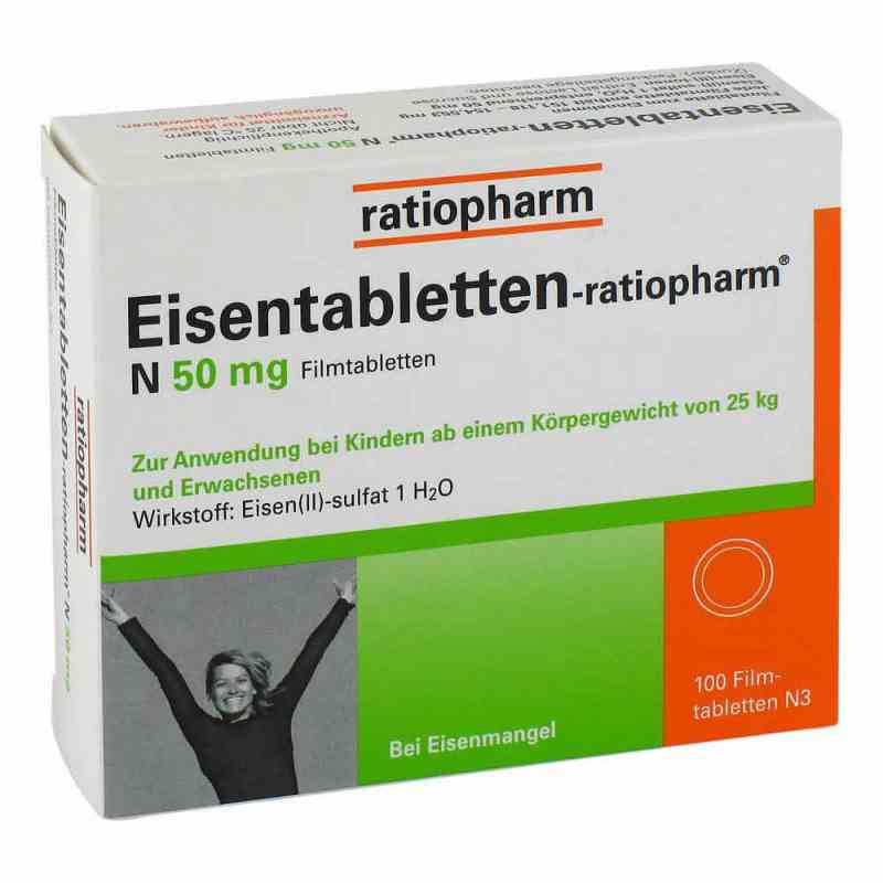 Eisentabletten-ratiopharm N 50mg  bei apotheke.at bestellen
