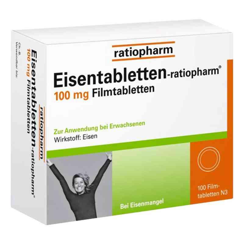 Eisentabletten-ratiopharm 100mg  bei apotheke.at bestellen