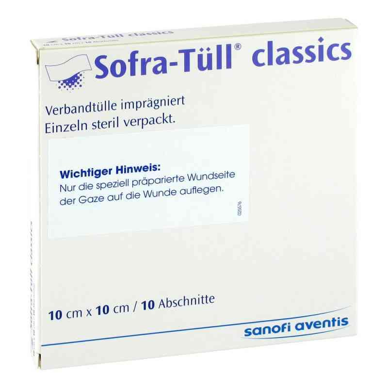 Sofra Tüll classics 10x10 cm Abschnitte  bei apotheke.at bestellen