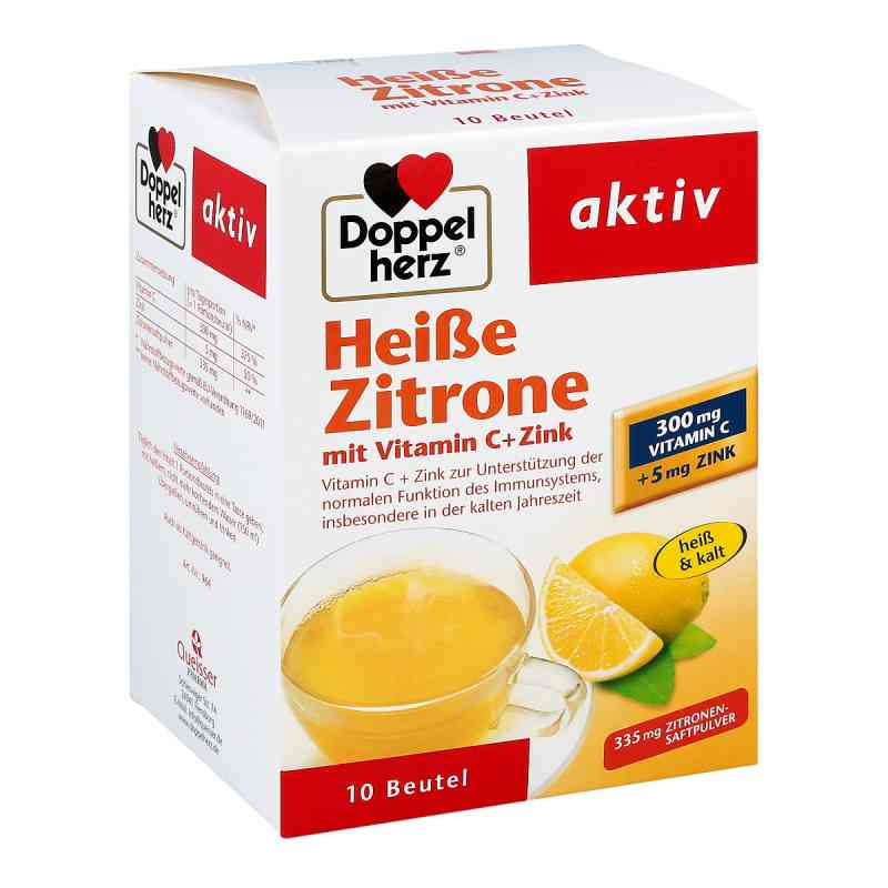 Doppelherz Heisse Zitrone Vitamin C + Zink Granula bei apotheke.at bestellen