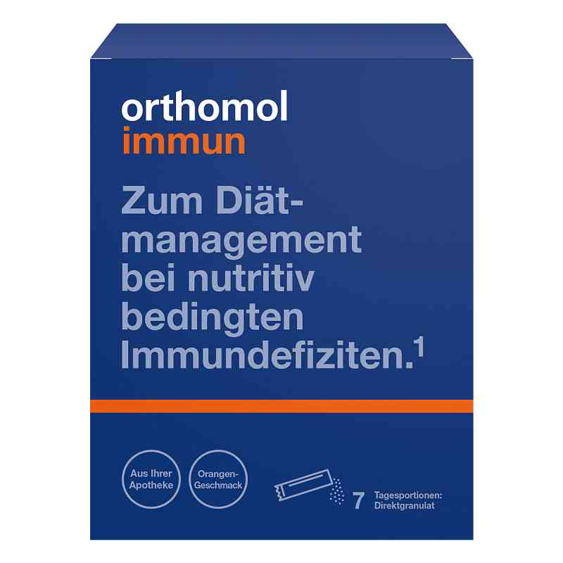 Orthomol Immun Direktgranulat Orange bei apotheke.at bestellen