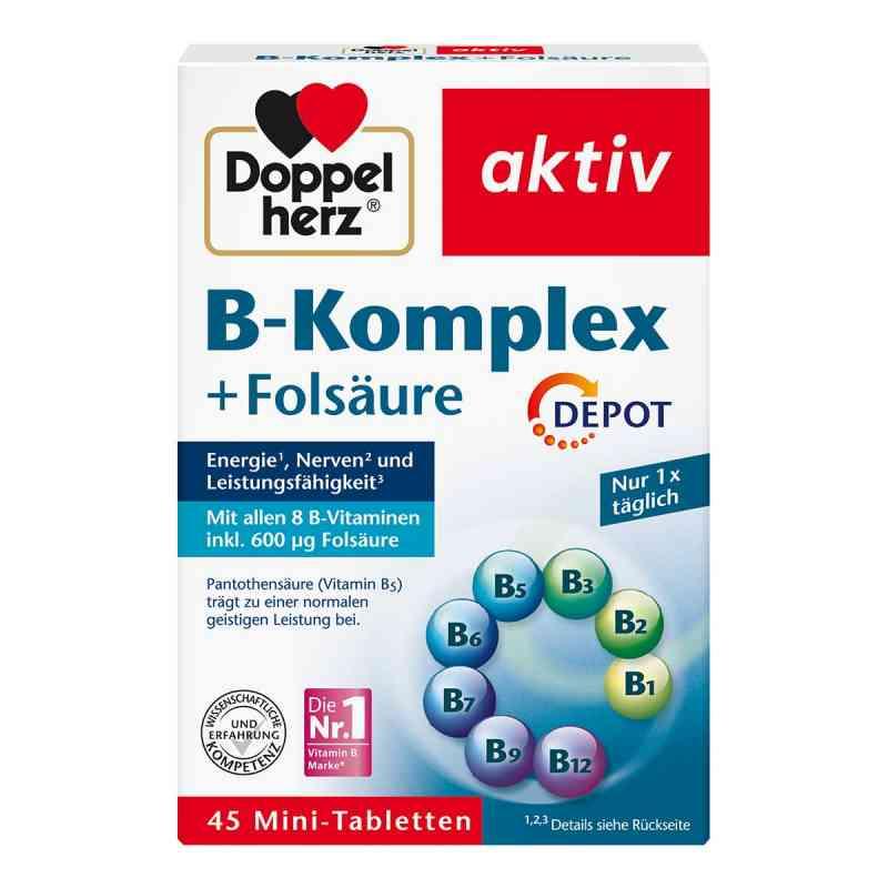 Doppelherz B-komplex + Folsäure Tabletten bei apotheke.at bestellen
