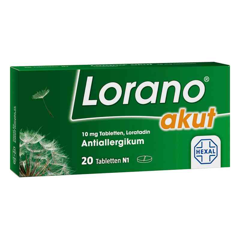 Lorano akut  bei apotheke.at bestellen