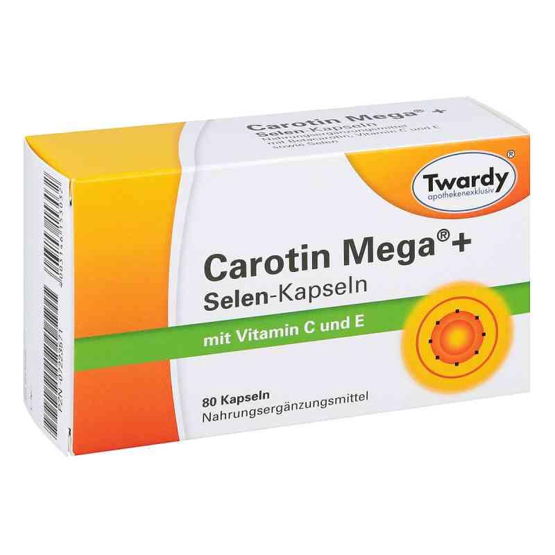 Carotin Mega + Selen Kapseln bei apotheke.at bestellen