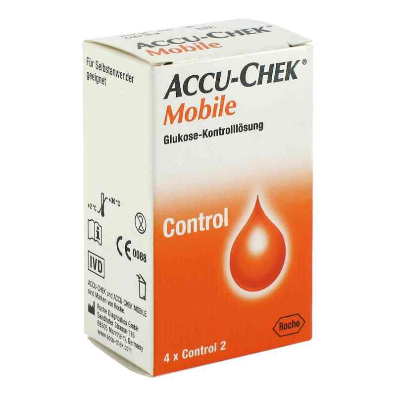Accu Chek Mobile Kontroll Lösung  4 Einmalapplikat.  bei apotheke.at bestellen