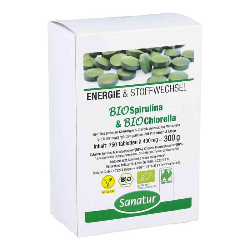 Biospirulina & Biochlorella 2 in 1 Tabletten bei apotheke.at bestellen