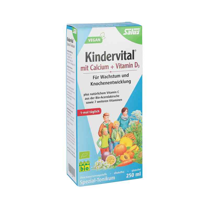 Kindervital Bio mit Calcium+d3 Tonikum Salus bei apotheke.at bestellen