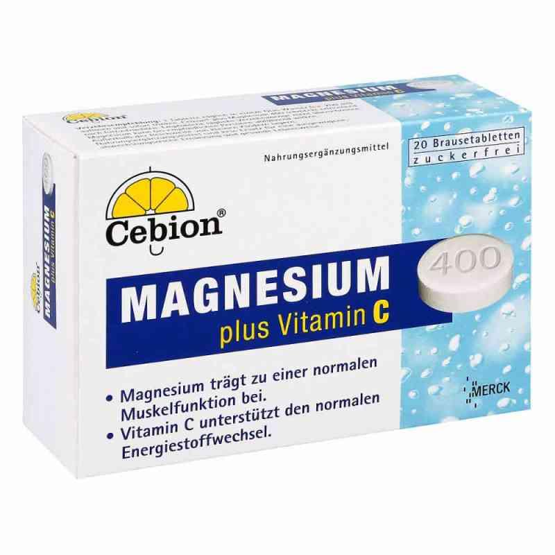 Cebion Plus Magnesium 400 Brausetabletten  bei apotheke.at bestellen