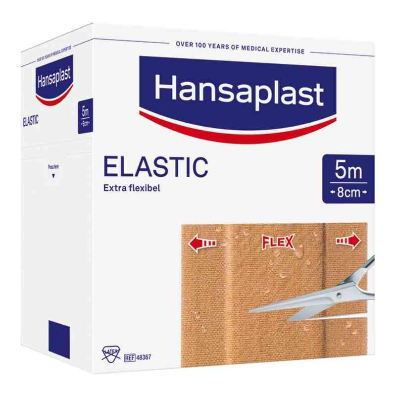 Hansaplast Elastic Pflaster 5mx8cm  bei apotheke.at bestellen