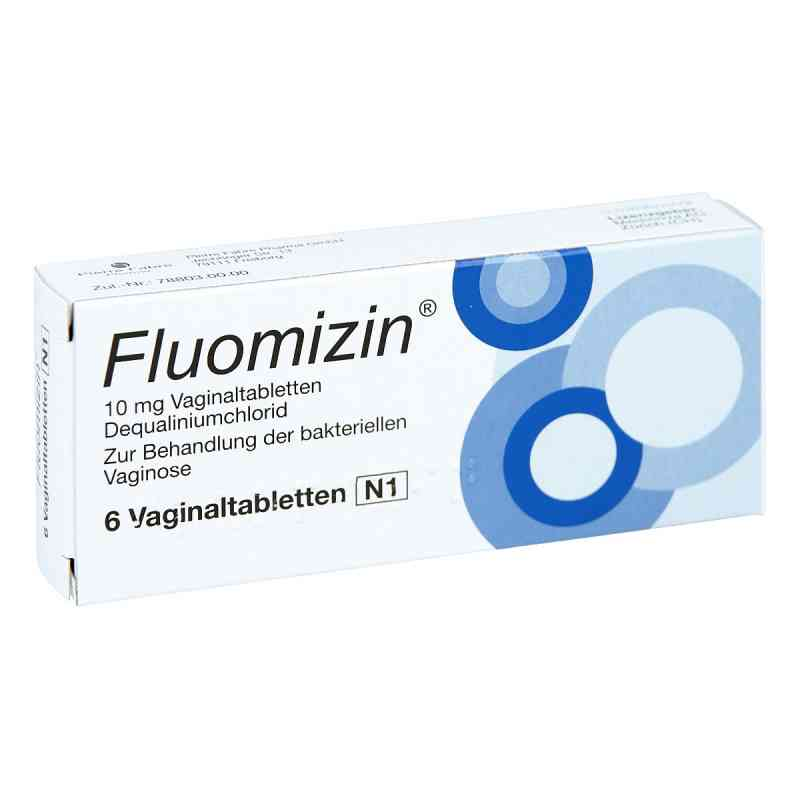 Fluomizin 10 mg Vaginaltabletten  bei apotheke.at bestellen
