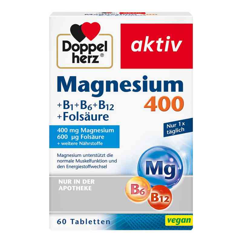 Doppelherz Magnesium 400 mg Tabletten  bei apotheke.at bestellen
