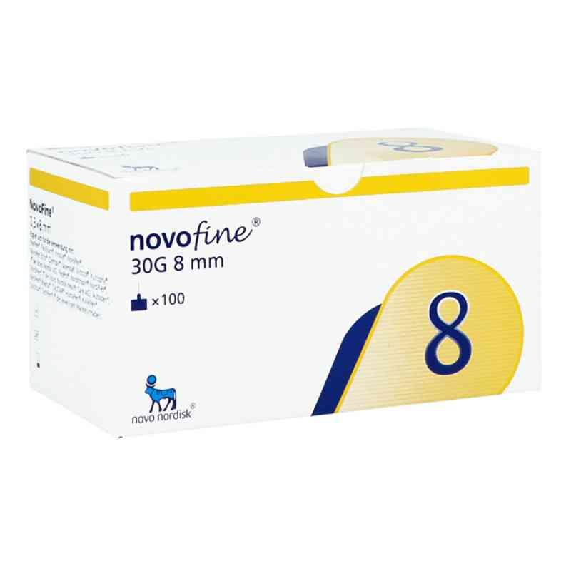 Novofine 8 Kanülen 0,30x8 mm 30 G thinwall  bei apotheke.at bestellen