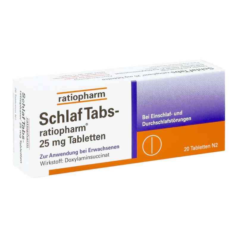 SchlafTabs-ratiopharm 25mg bei apotheke.at bestellen
