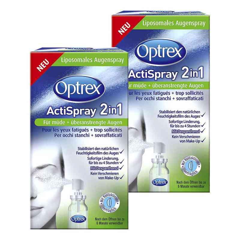 2x Optrex ActiSpray 2in1 für müde  überanstrengte Augen bei apotheke.at bestellen