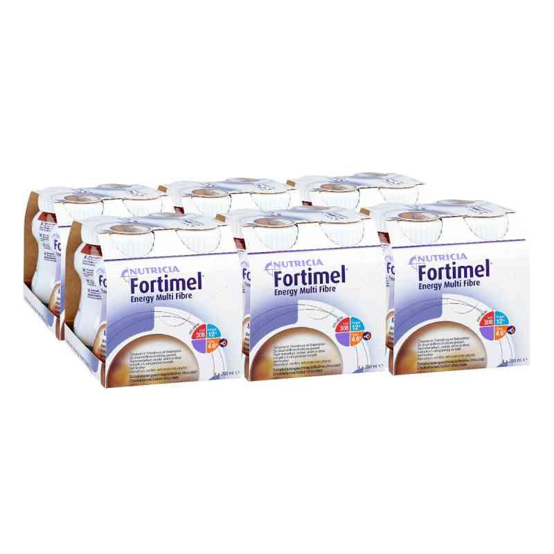 Fortimel Energy Multi Fibre Schokoladengeschmack  bei apotheke.at bestellen