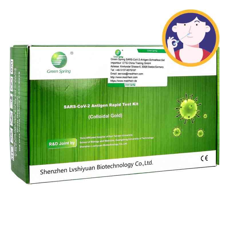 Green Spring SARS-CoV-2-Antigen Schnelltest-Set  bei apotheke.at bestellen