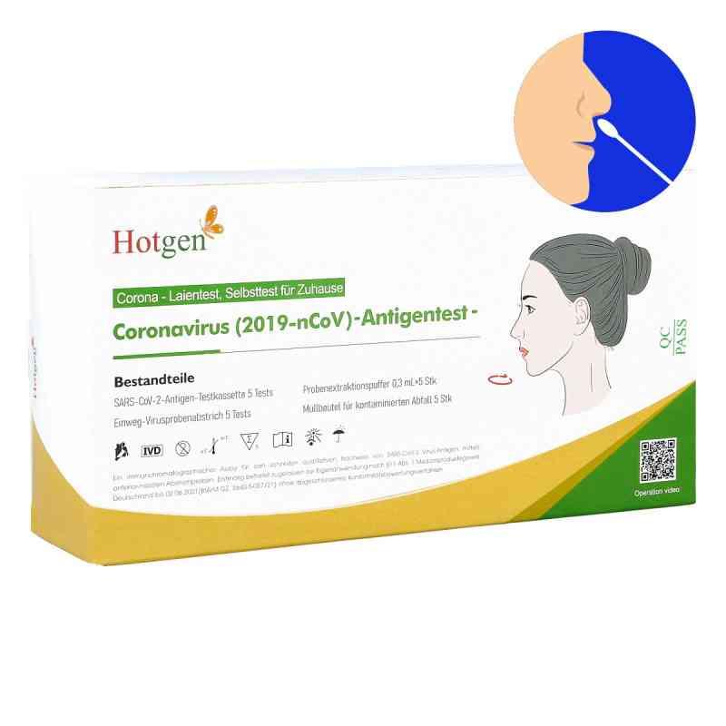 Laientest Hotgen Novel Coronavirus 2019-nCov - Nasentest  bei apotheke.at bestellen