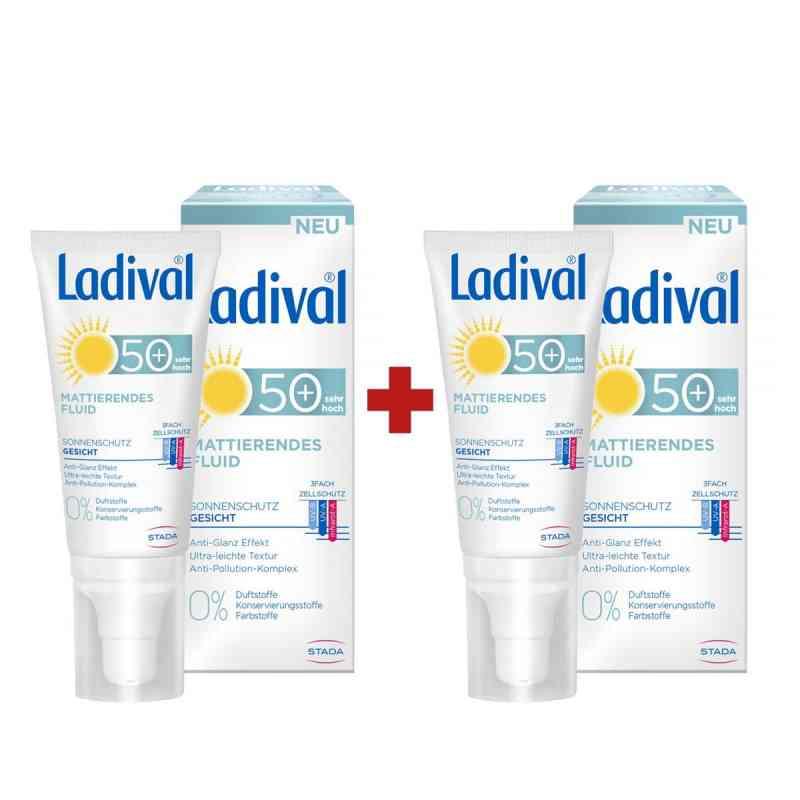 Ladival Sonnenschutz Gesicht Fluid mattierend LSF 50 50 ml + GRA  bei apotheke.at bestellen