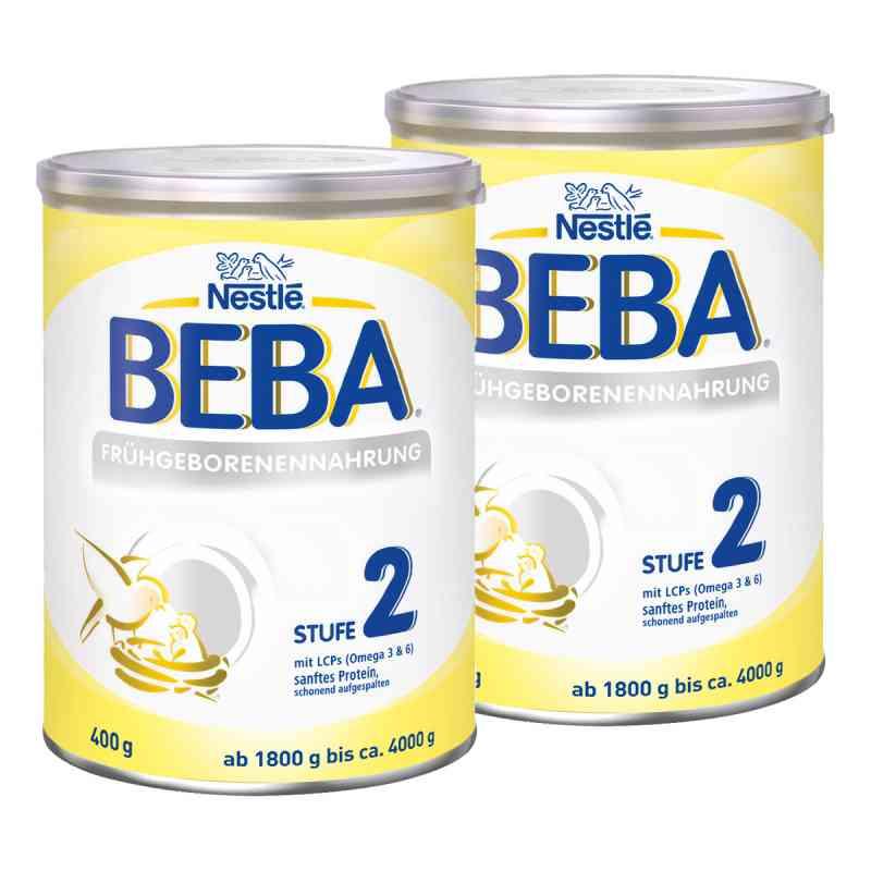 Nestle Beba Frühgeborenen Nahrung Stufe 2 2er Paket  bei apotheke.at bestellen