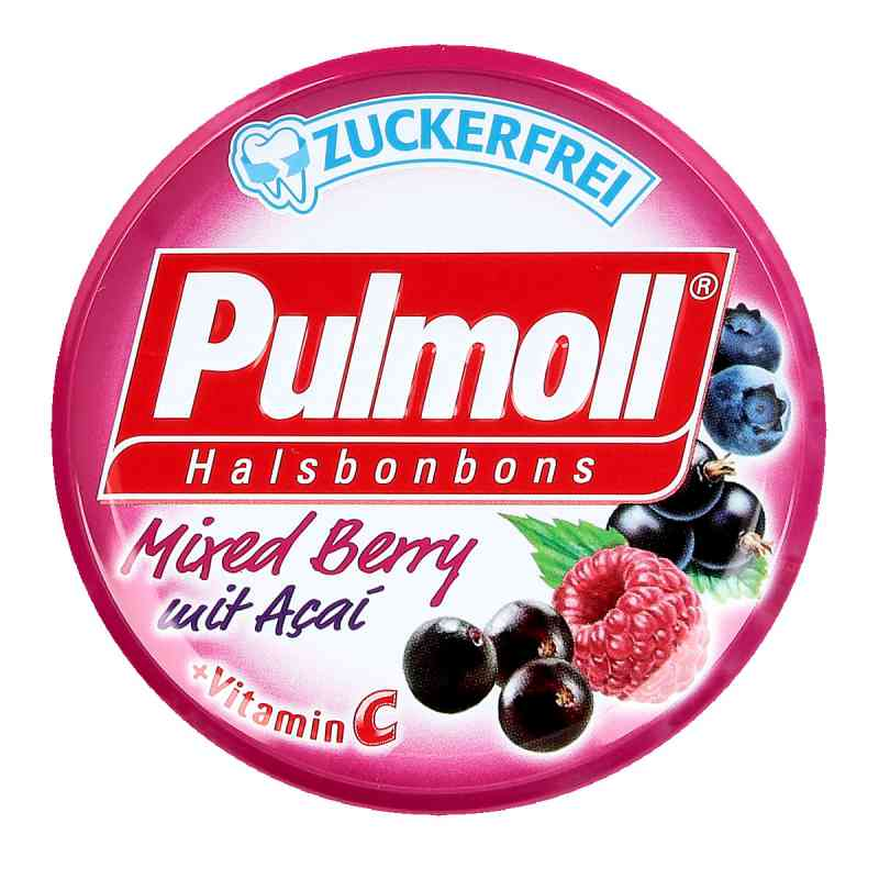 Pulmoll Mixed Berry mit Acai + Vitamin C zuckerfr.  bei apotheke.at bestellen