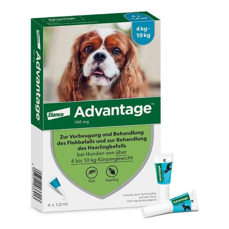 Advantage 100 für Hunde Lösung bei apotheke.at bestellen