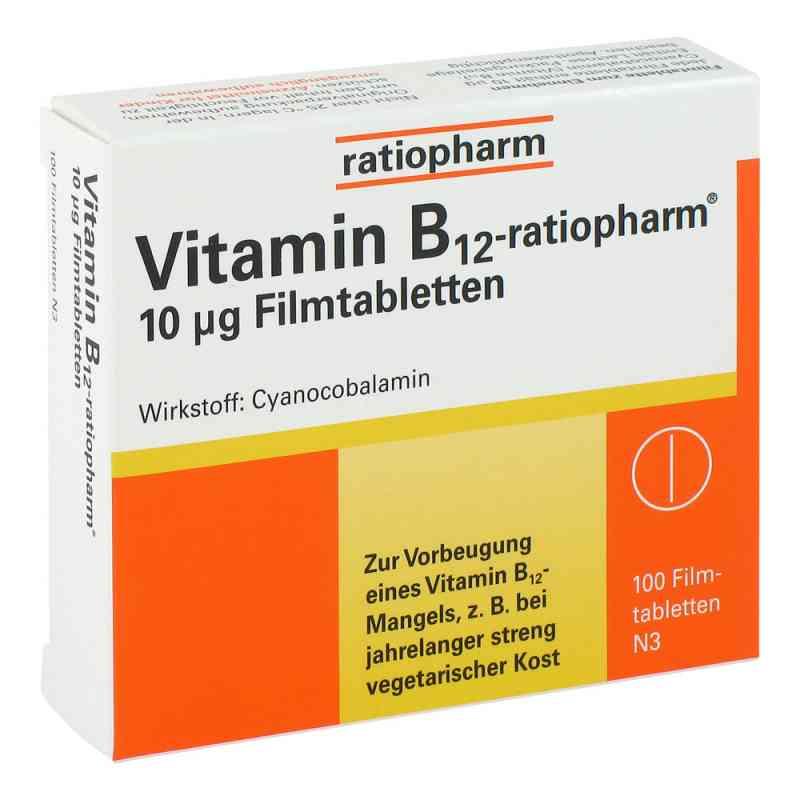 Vitamin B12 ratiopharm 10 [my]g Filmtabletten bei apotheke.at bestellen