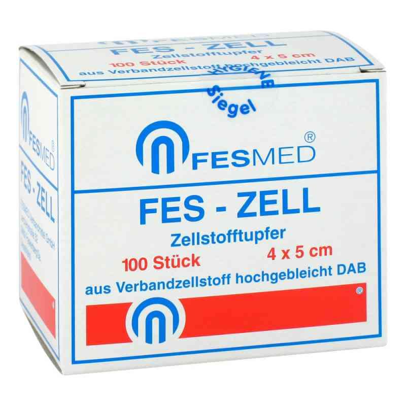 Zellstofftupfer Fes Zell 4x5 cm hochgebleicht  bei apotheke.at bestellen