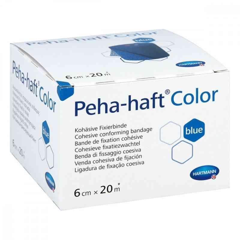 Peha Haft Color Fixierbinde latexf.6 cmx20 m blau bei apotheke.at bestellen