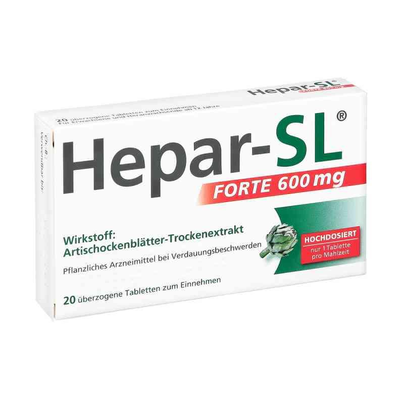 Hepar-SL forte 600mg  bei apotheke.at bestellen