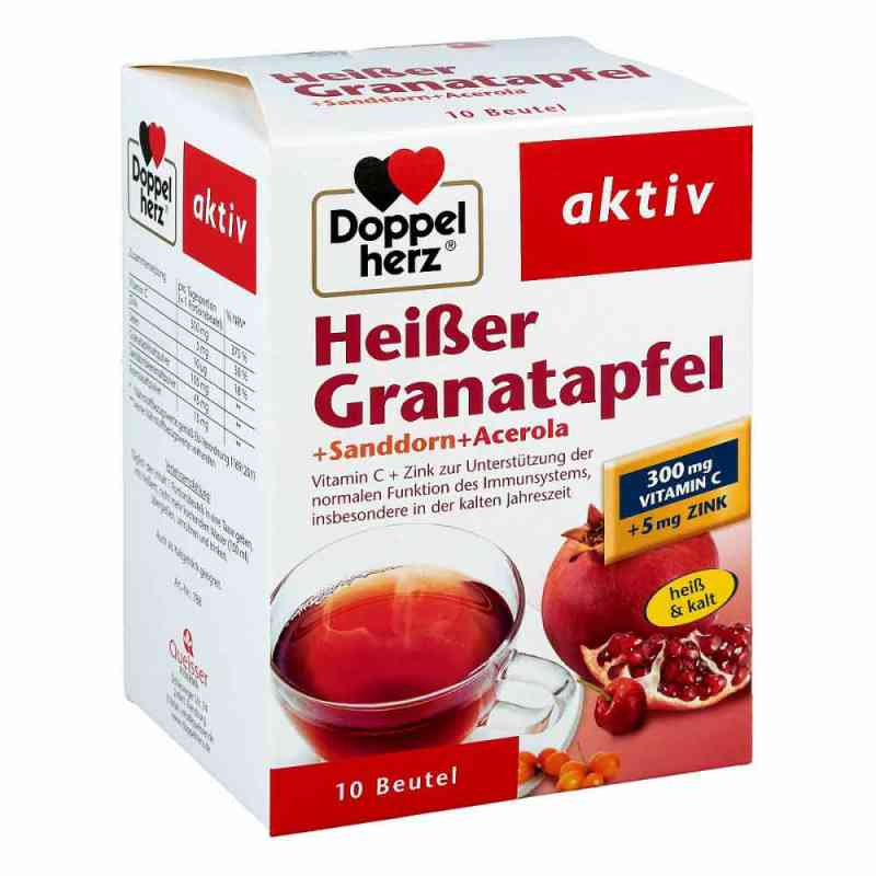 Doppelherz Heisser Granatapfel+sanddorn+acerola bei apotheke.at bestellen