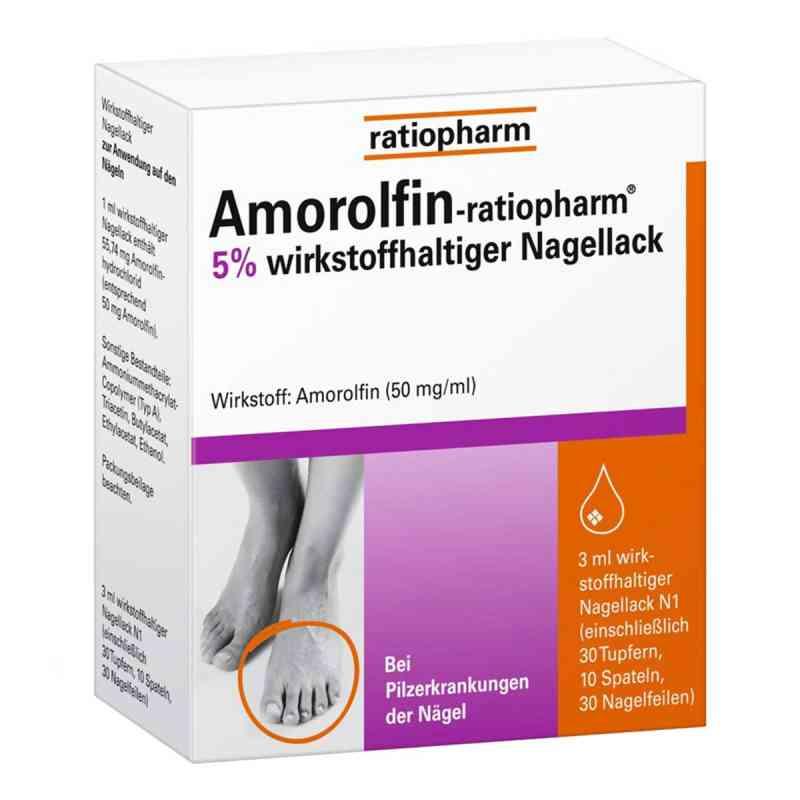 Amorolfin-ratiopharm 5%  bei apotheke.at bestellen