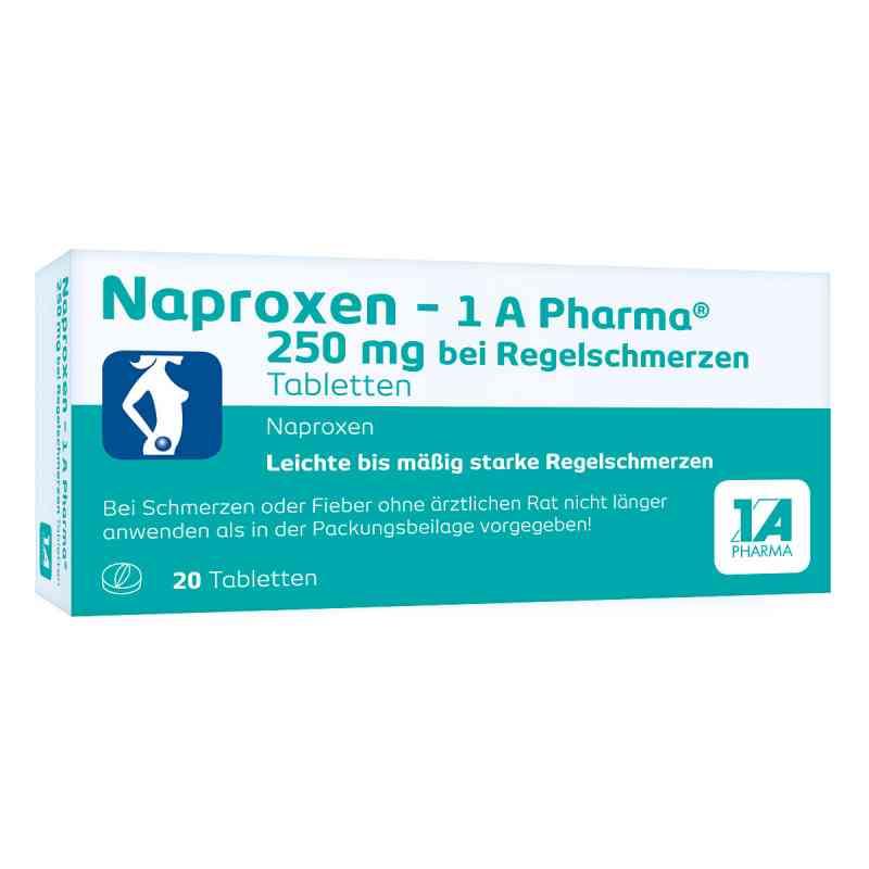 Naproxen-1A Pharma 250mg bei Regelschmerzen  bei apotheke.at bestellen