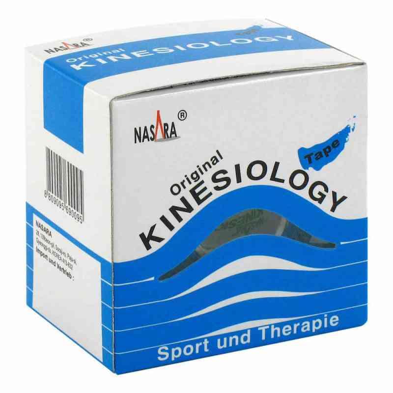 Nasara Kinesio Tape 5 cmx5 m blau inkl.Spenderbox  bei apotheke.at bestellen