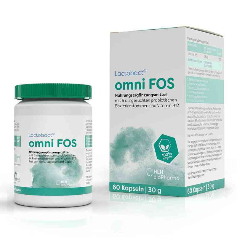 Lactobact omni Fos magensaftresistente Kapseln  bei apotheke.at bestellen