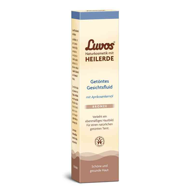 Luvos Naturkosmetik getöntes Gesichtsfluid bronze bei apotheke.at bestellen