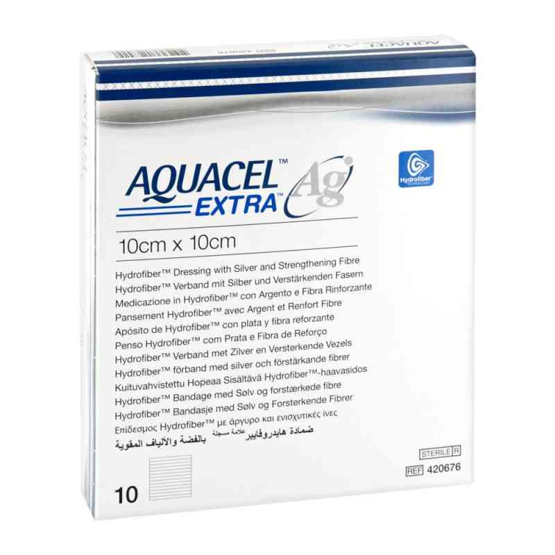 Aquacel Ag Extra 10x10 cm Kompressen  bei apotheke.at bestellen